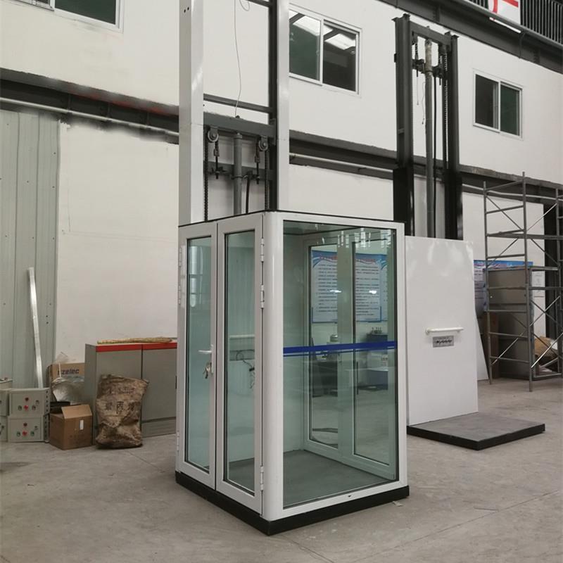 玻璃轿厢家用电梯